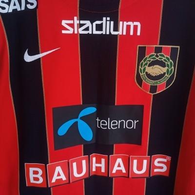 "Matchworn IF Brommapojkarna Home Shirt 2016-2017 (S) ""Perfect"""