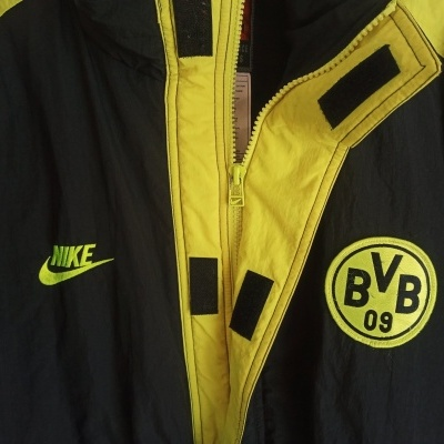 "BVB Borussia Dortmund Jacket 1995-1996 (M) ""Very Good"""