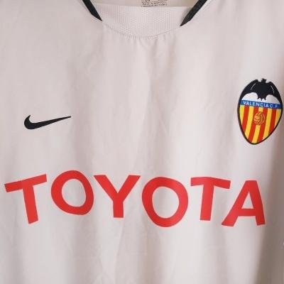 """Valencia CF Home Shirt 2003-2004 (XL) """"Good"""""""