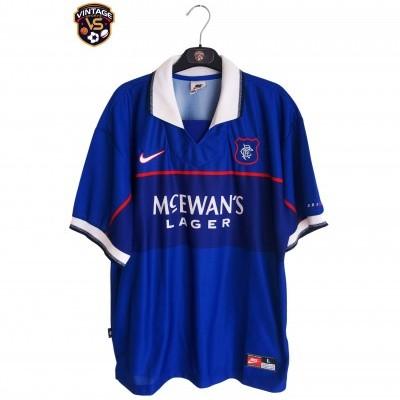 "Glasgow Rangers FC Home Shirt 1997-1999 (L) ""Perfect"""