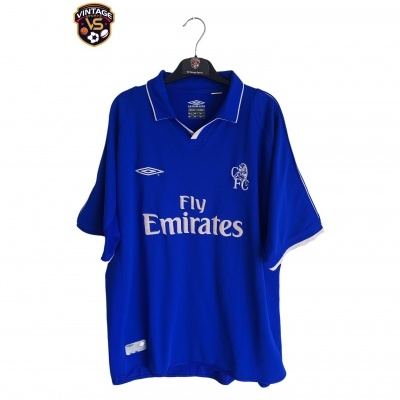 "Chelsea FC Home Shirt 2001-2003 (XL) ""Good"""