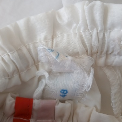 """Vintage Shorts 1980s White Red (48) """"Good"""""""