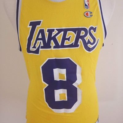 "LA Los Angeles Lakers NBA Jersey #8 Bryant (40) ""Good Condition"""