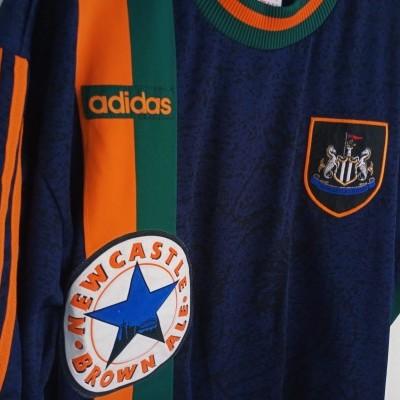 "Newcastle United Away Shirt 1997-1998 (XL) ""Very Good"""