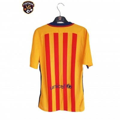 """FC Barcelona Away Shirt 2015-2016 Player Issue (S) """"Perfect"""""""