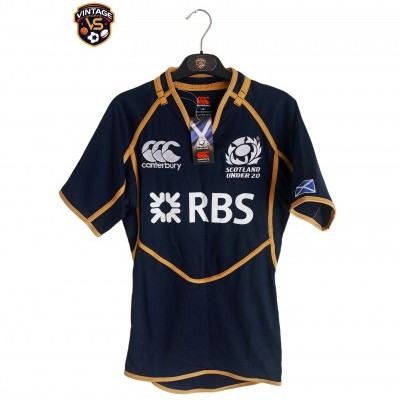 NEW Scotland Under 20 Rugby Test Home Shirt 2011 (M)