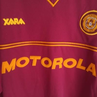 """Motherwell FC Away Shirt 2001-2002 (XL) """"Very Good"""""""