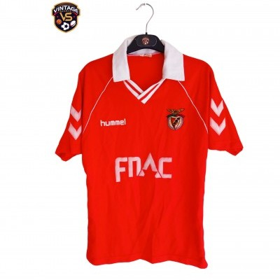"SL Benfica Home Shirt 1989-1991 (S) ""Very Good"""