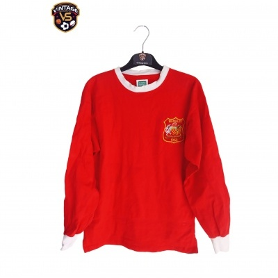"""Official Retro Manchester United Home Shirt L/S 1963 (S) """"Average"""""""