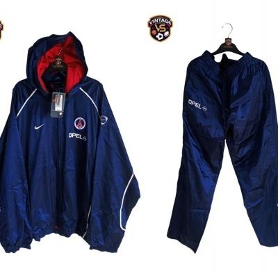 NEW Paris SG PSG Full Tracksuit Nike 2001-2002 (XL)
