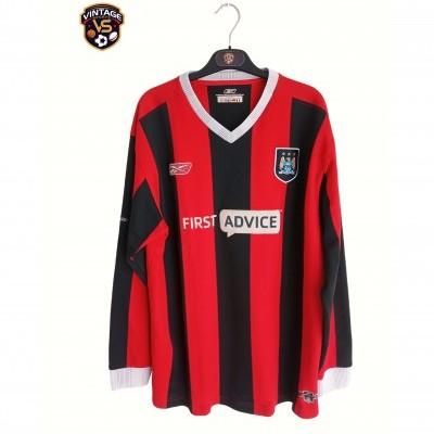 """Manchester City Long Sleeve Away Shirt 2003-2004 (XL) """"Good"""""""