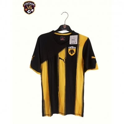 NEW AEK Athens Away Shirt Player Issue 2011-2012 (M)