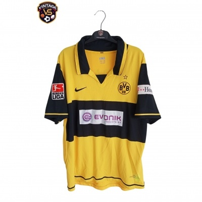 "Borussia Dortmund Home Shirt 2006-2007 #13 Frei (L) ""Very Good"""