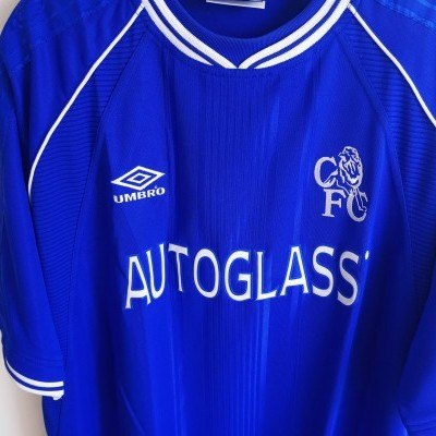 "Chelsea FC Home Shirt 1999-2001 (XXL) ""Perfect"""