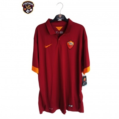 NEW AS Roma Home Shirt 2014-2015 (XXL)