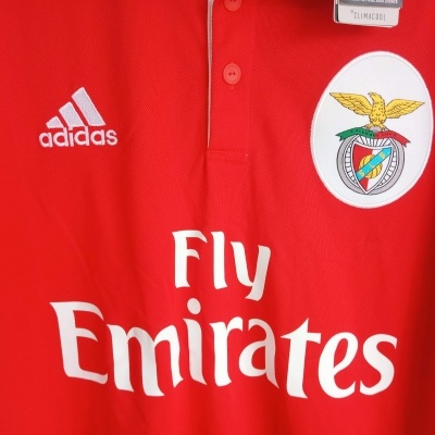 NEW SL Benfica Home Shirt 2017-2018 Eusebio (XL)
