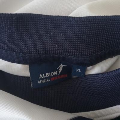"WBA West Bromwich Albion FC Home Shirt 2004-2005 (XL) ""Very Good"""