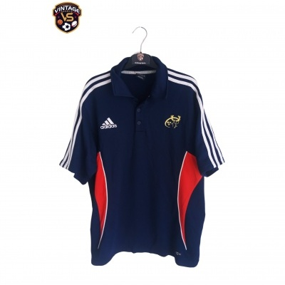 """Munster Rugby Polo Shirt 2007 (L) """"Very Good"""""""