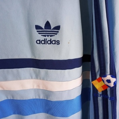 "Track Top Jacket Adidas Spain 1982 (2XL) ""Average"""