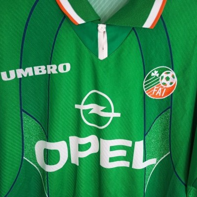 "Republic of Ireland Home Shirt 1994-1996 (XXL) ""Very Good"""