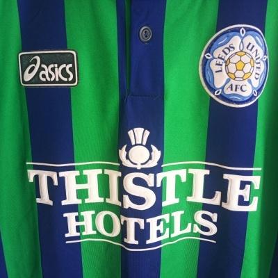 "Leeds United FC Third Shirt 1994-1996 (L) ""Very Good"""
