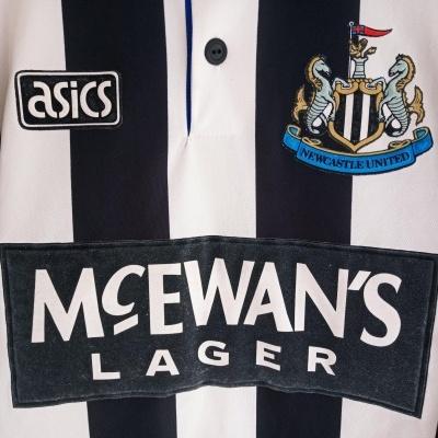 "Newcastle United Home Shirt 1993-1995 (L) ""Very Good"""