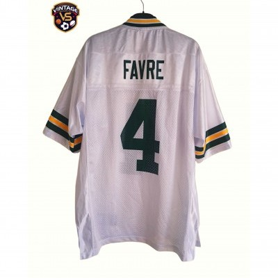 "Green Bay Packers NFL Shirt #4 Favre (M) ""Very Good"""