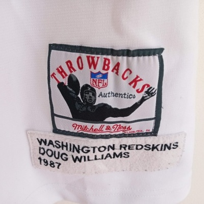 "Washington Redskins NFL Jersey 1987 #17 Williams (56) ""Good"""