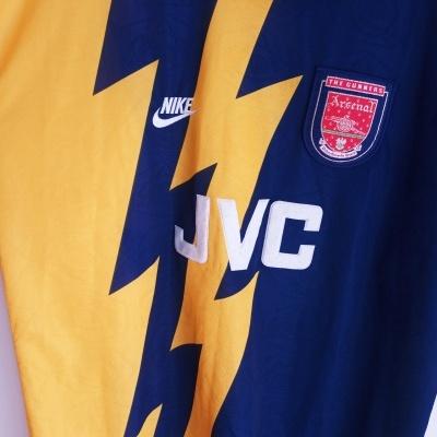 "Arsenal FC Prototype Shirt 1995-1996 (XL) ""Very Good"""
