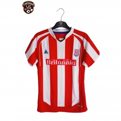 "Stoke City FC Home Shirt 2009-2010 (Womens) ""Very Good"""