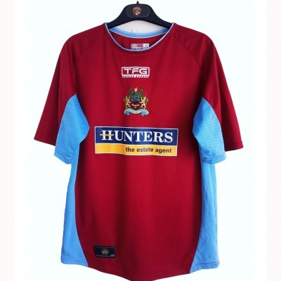 "Burnley FC Home Shirt 2004-2005 (S) ""Very Good"""