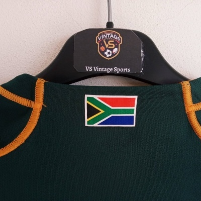 """South Africa Rugby Home Shirt 2013-2014 (L) """"Very Good"""""""