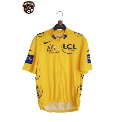 "Tour de France 2011 Cycling Yellow Shirt Jersey (M) ""Very Good"""