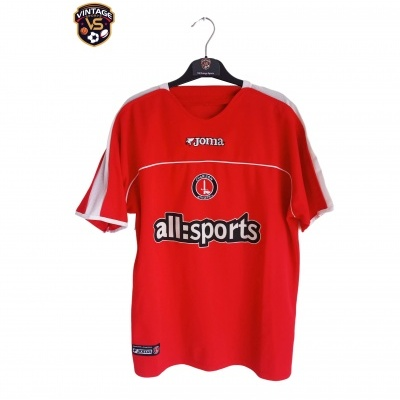 "Charlton Athletic FC Home Shirt 2003-2004 (L) ""Very Good"""