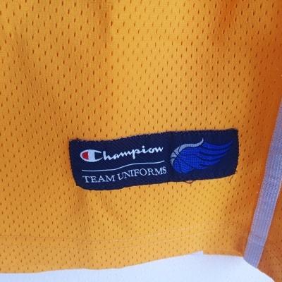 """Matchworn Sweden Basketball Jersey #8 (XL) """"Perfect"""""""