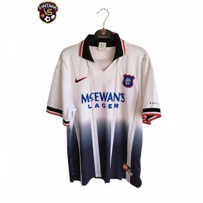 "Glasgow Rangers FC Away Shirt 1997-1998 (M) ""Good"""