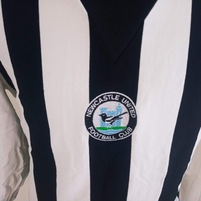 "Retro Newcastle United Home Shirt 1976 (XL) ""Very Good"""