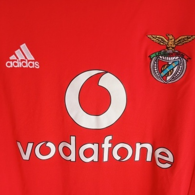 "SL Benfica European Cup Shirt 2003-2004 (M) ""Very Good"""