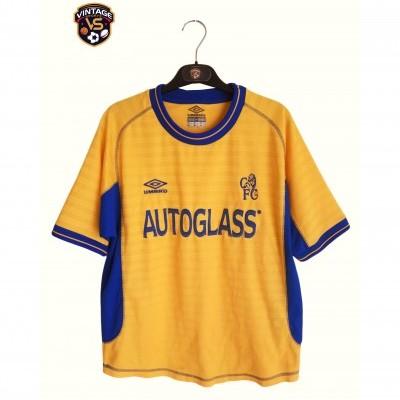 "Chelsea FC Away Shirt 2000-2002 (Youths) ""Good"""