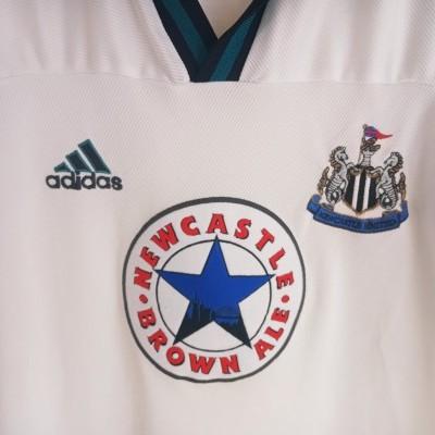 "Newcastle United Away Shirt 1999-2000 (M) ""Very Good"""