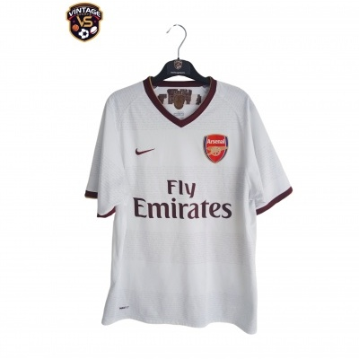 "Arsenal FC Away Shirt 2007-2008 (M) ""Very Good"""