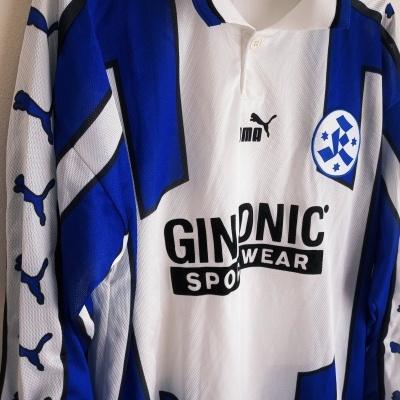 """Stuttgarter Kickers L/S Home Shirt 1999-2000 (M) """"Very Good"""""""