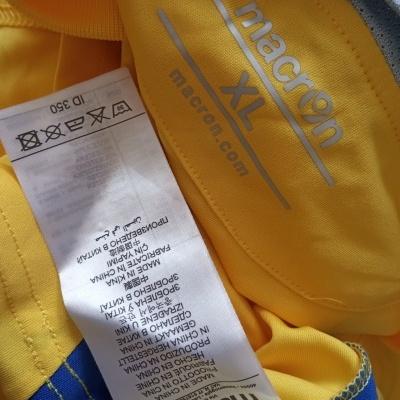 """Matchworn Warrington Town FC Home Shirt #19 (XL) """"Very Good"""""""