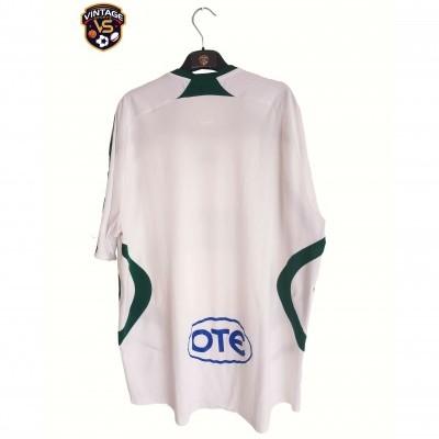"Panathinaikos Player Issue Away Shirt 2007-2008 (XXL) ""Very Good"""