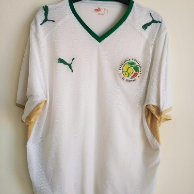 "Senegal Home Shirt 2007-2009 (L) ""Very Good"""
