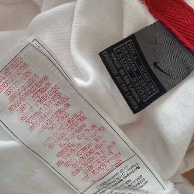 """England Rugby Long Sleeve Home Shirt 2003-2005 (L) """"Good"""""""