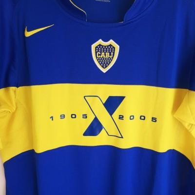 NEW Boca Juniors Centenary Home Shirt 2005 (XL Youths)