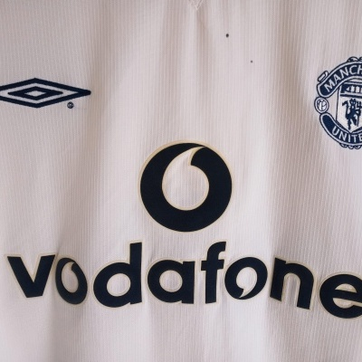 "Manchester United Away Shirt 1999-2000 (L) ""Good"""
