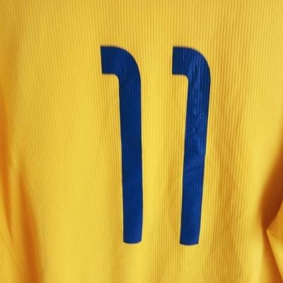 """Hamilton Academical FC L/S Away Shirt 2007-2009 #11 (L) """"Good"""""""