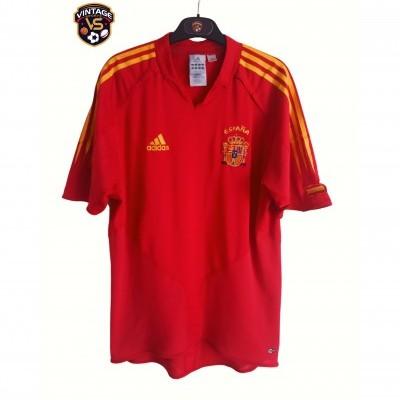 "Spain Home Shirt 2004-2005 (M) ""Very Good"""